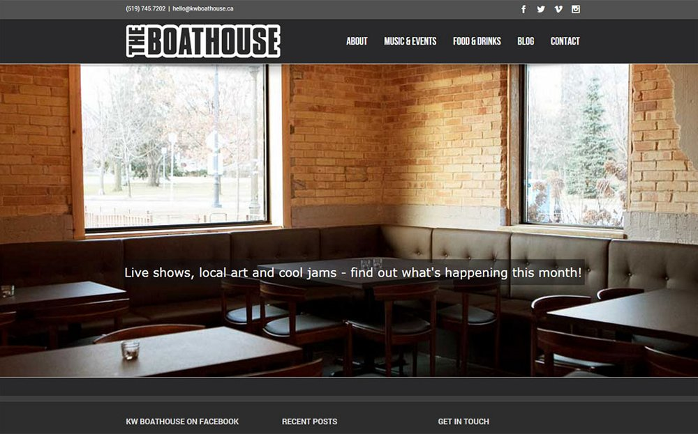 Ultimate Vision - The Boathouse